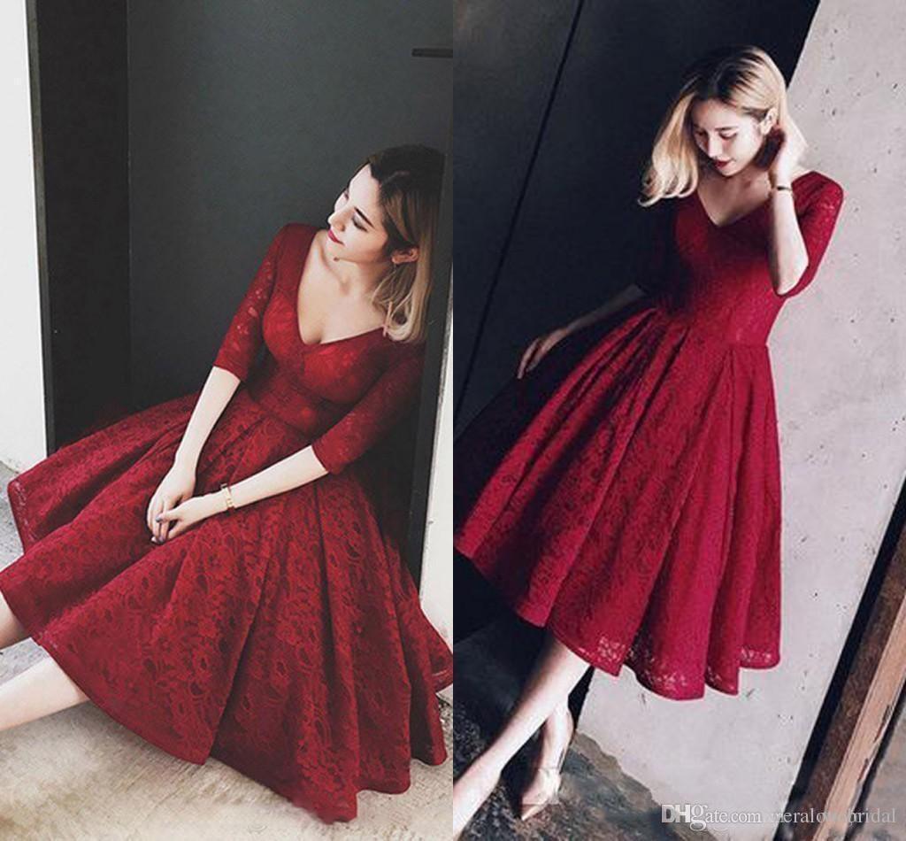 10 Schön Dunkelrotes Abendkleid für 201913 Genial Dunkelrotes Abendkleid Vertrieb