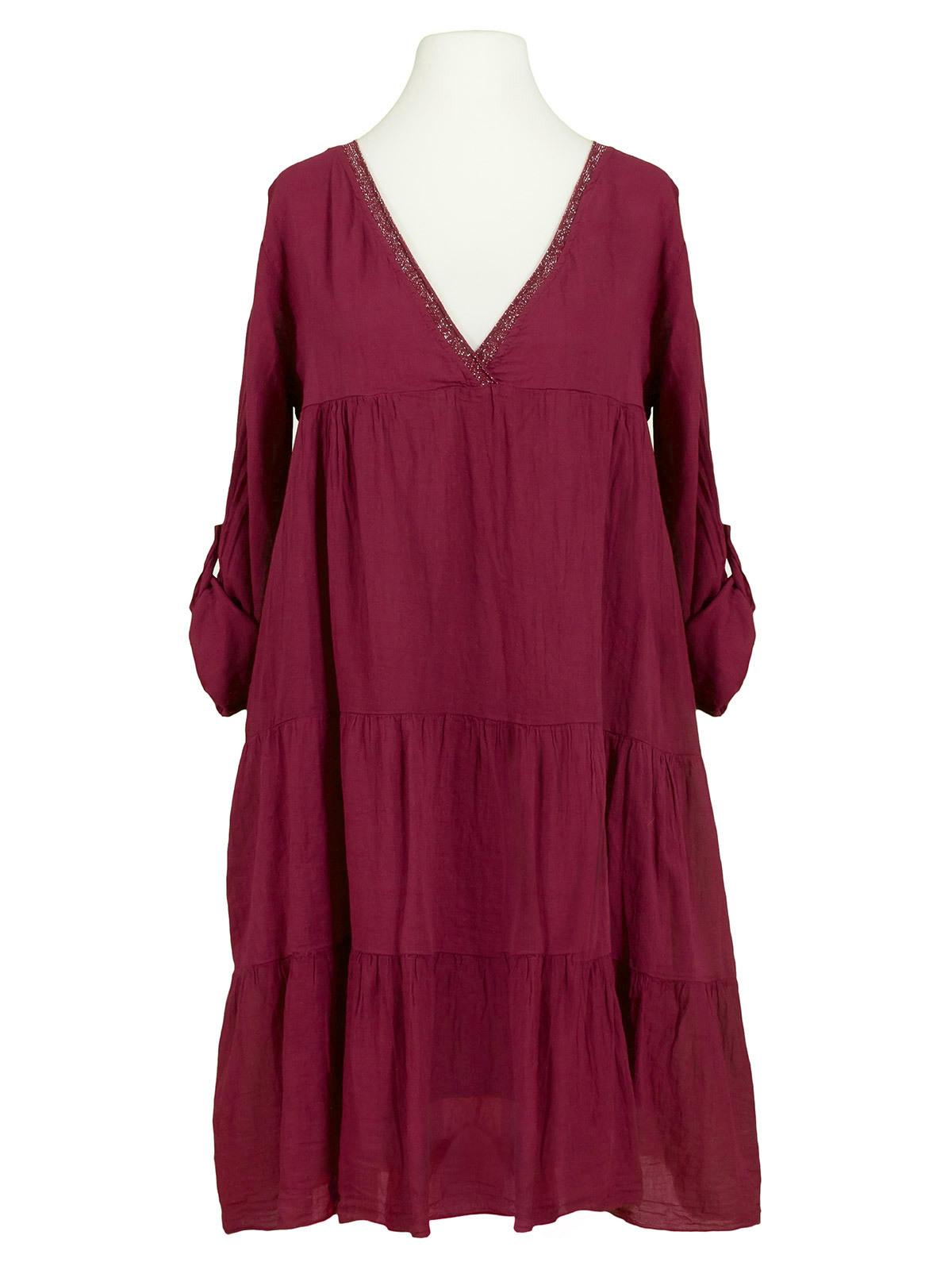 15 Cool Kleid Spitze Bordeaux Design - Abendkleid