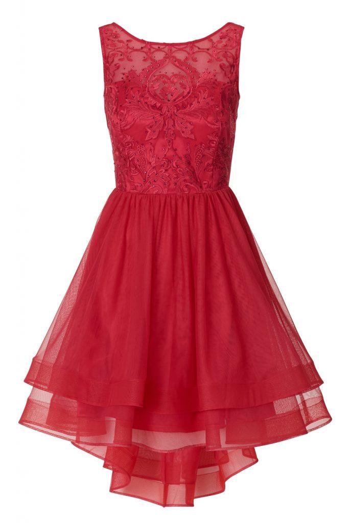 15 Einfach Vera Mont Abendkleid Rot Ärmel - Abendkleid