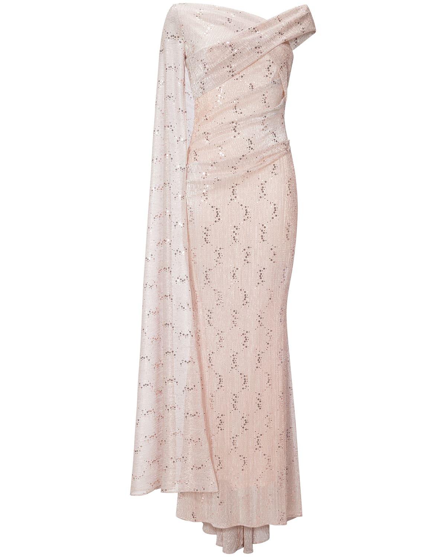 Designer Großartig Abendkleid Ivory DesignAbend Schön Abendkleid Ivory Bester Preis