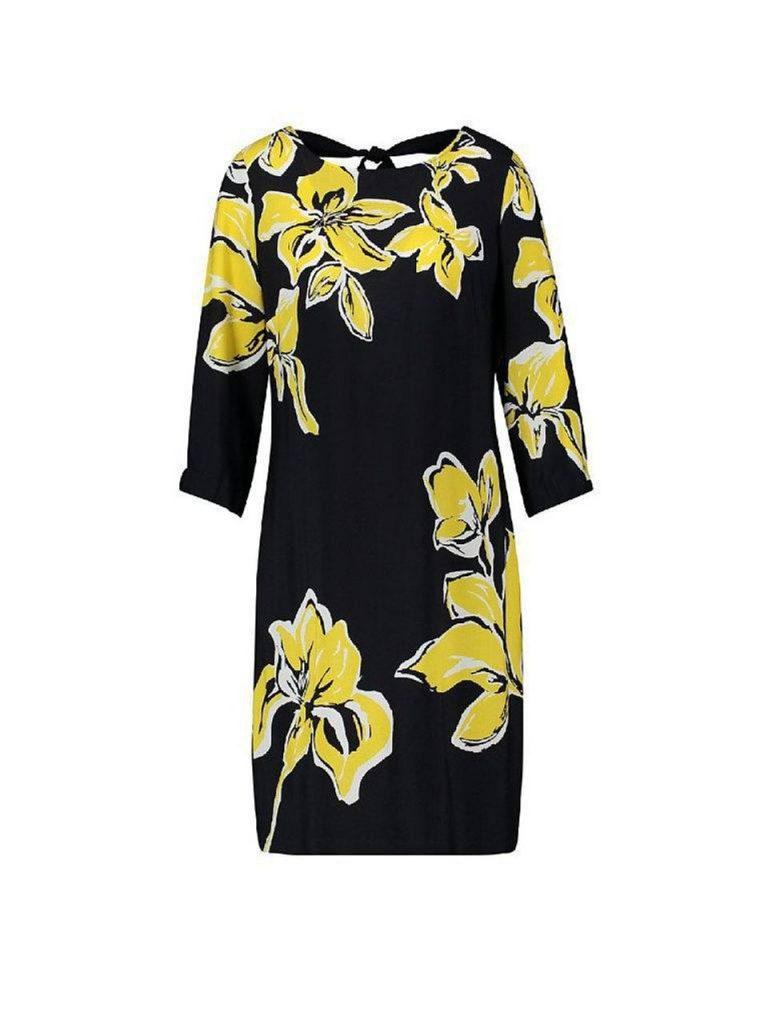 15 Kreativ Kleid Schwarz Gelb Ärmel - Abendkleid