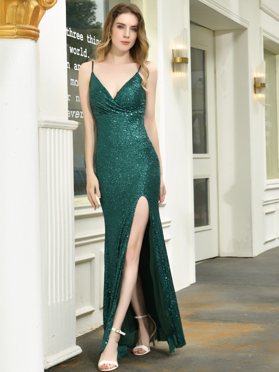 17 Kreativ Abendkleid Pailletten Lang für 2019Formal Top Abendkleid Pailletten Lang Stylish
