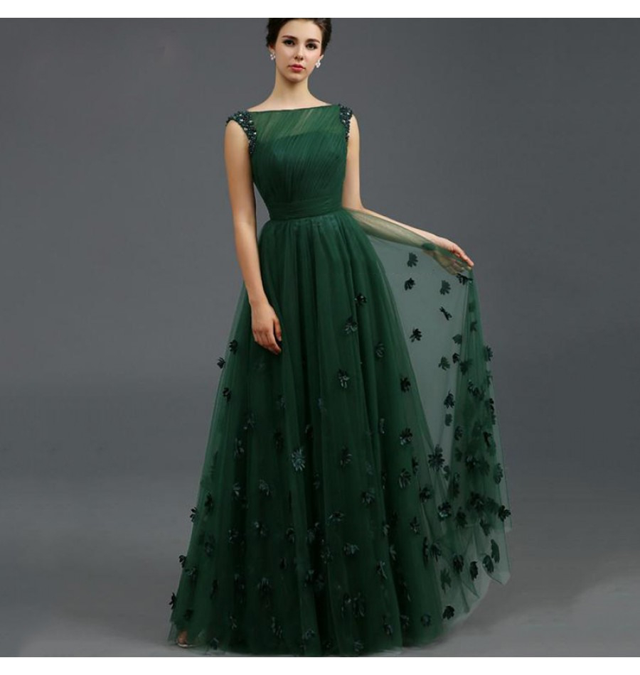 10 Ausgezeichnet Abendkleid Dunkelgrün Ärmel13 Top Abendkleid Dunkelgrün Bester Preis