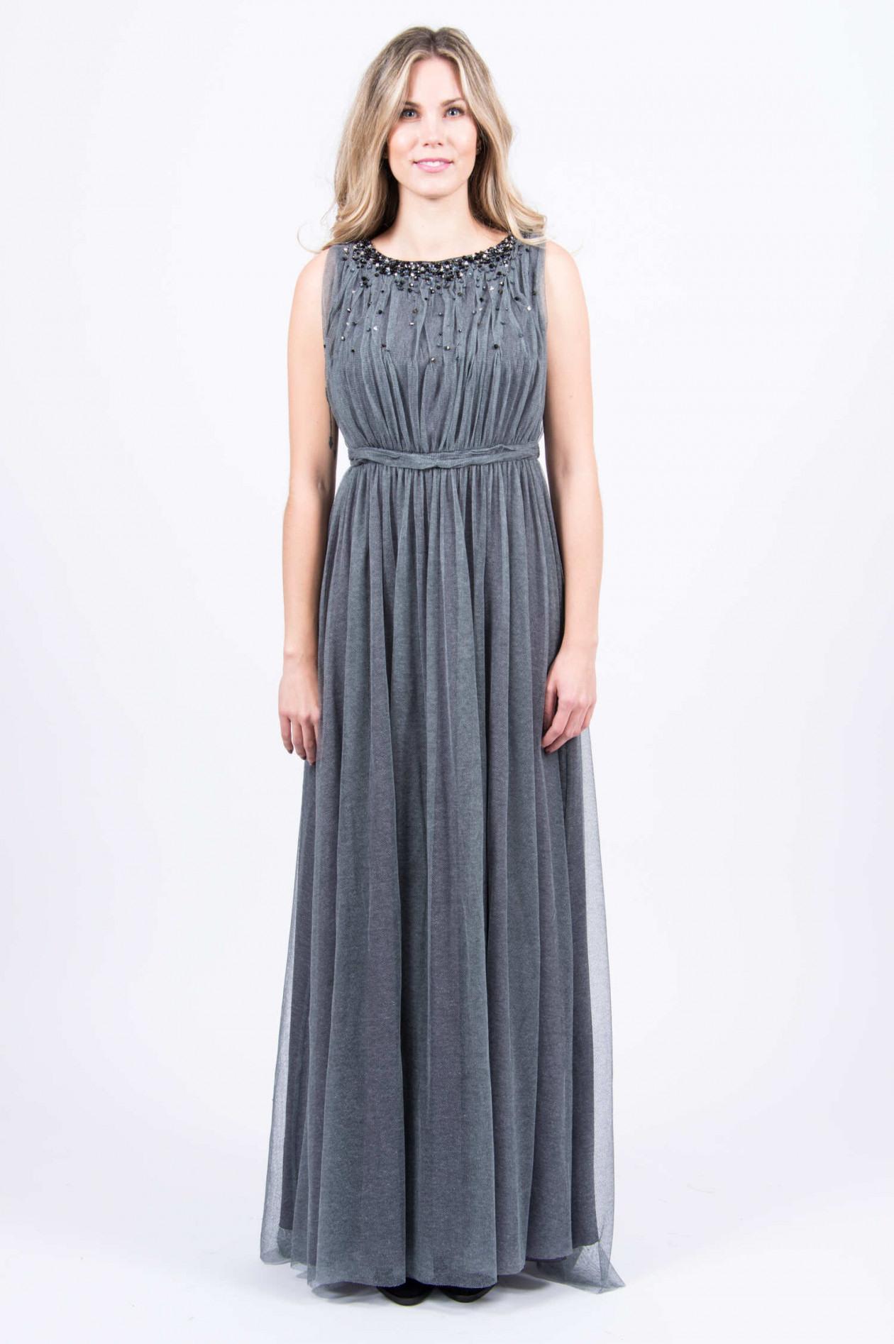 Ausgezeichnet Abendkleid Grau Spezialgebiet20 Kreativ Abendkleid Grau Boutique