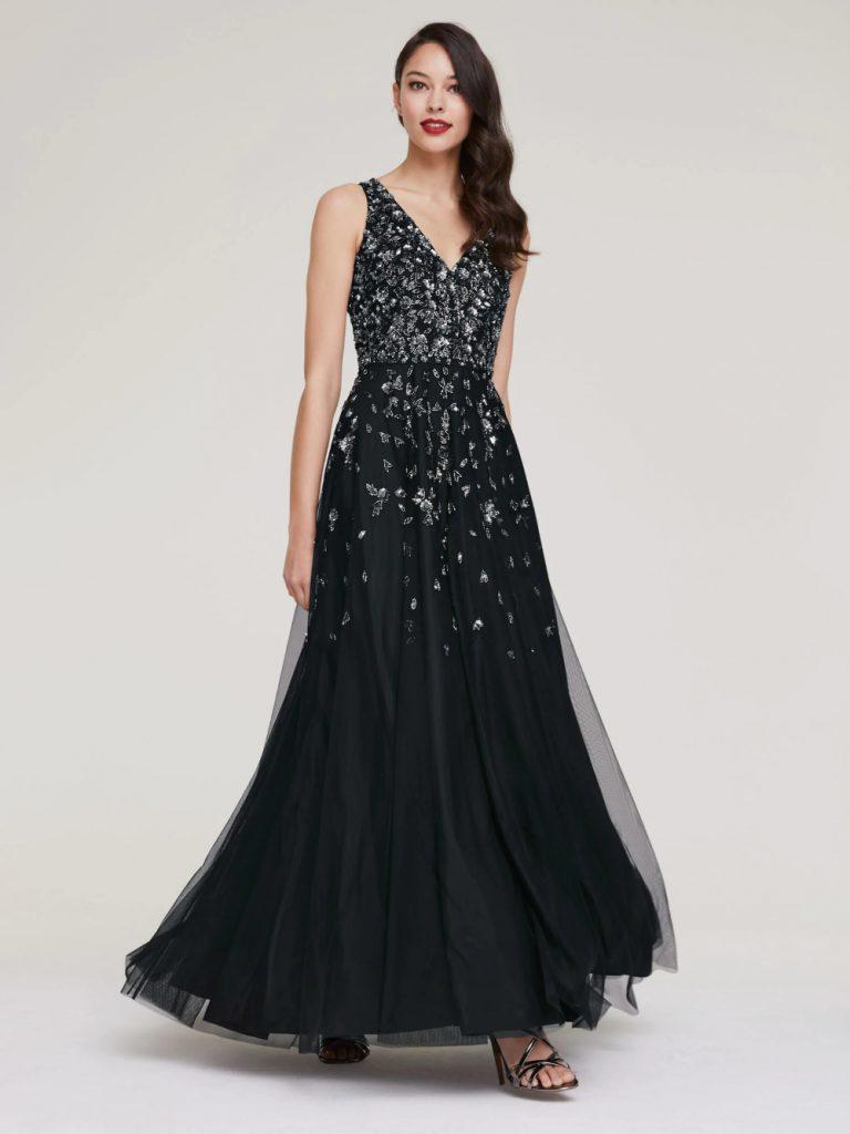 14 Luxus Heine Abendkleid Lang Ärmel - Abendkleid