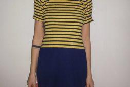 designer-cool-kleid-blau-gelb-bester-preis