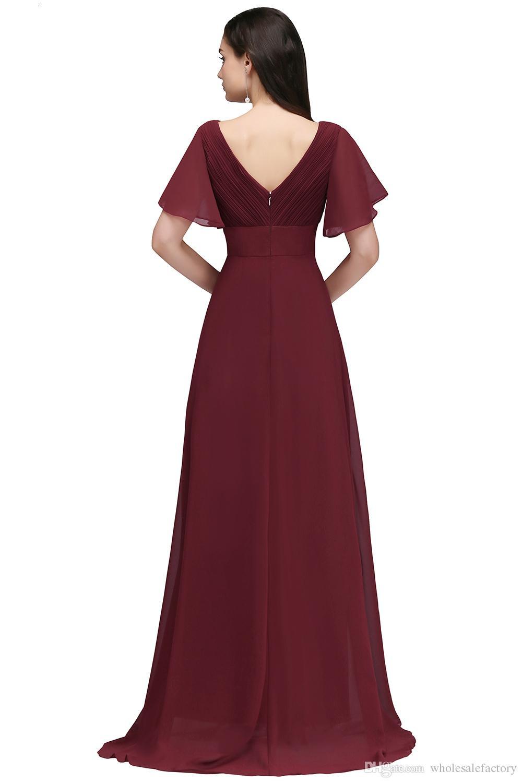 13 Genial Abendkleid Dunkelrot Lang Galerie17 Spektakulär Abendkleid Dunkelrot Lang Ärmel