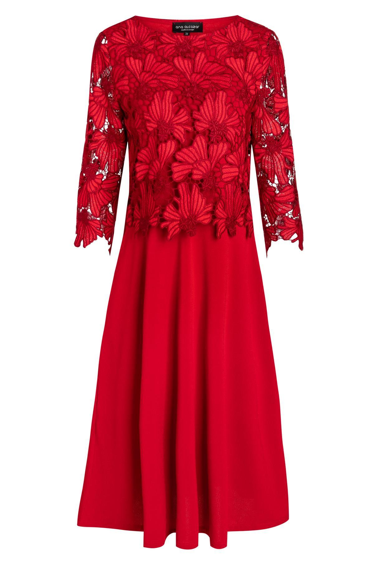 13 Luxurius Rotes Kleid Mit Spitze Bester PreisAbend Schön Rotes Kleid Mit Spitze Vertrieb
