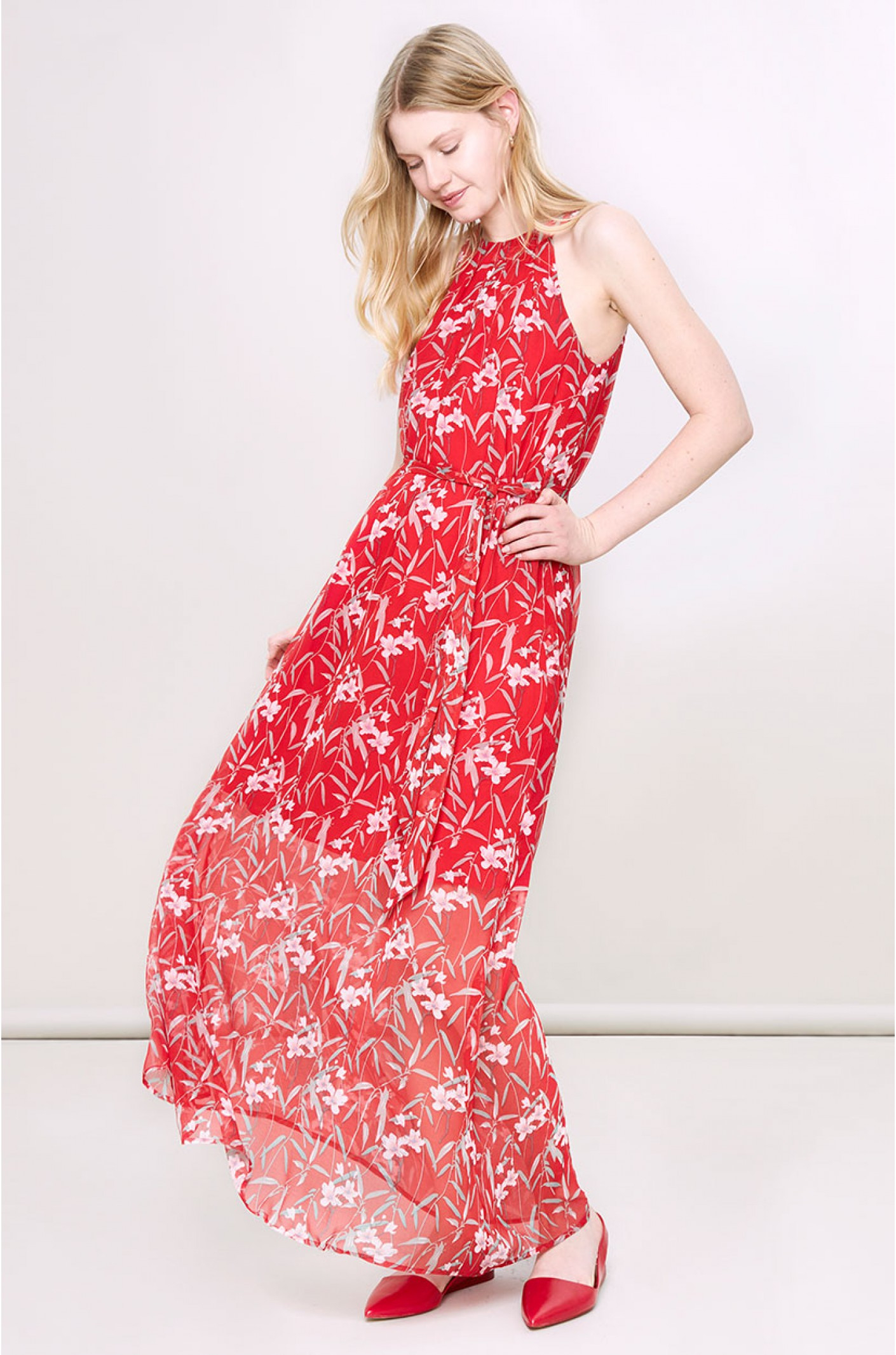 13 Einzigartig Sommerkleid Rot für 201920 Top Sommerkleid Rot Ärmel