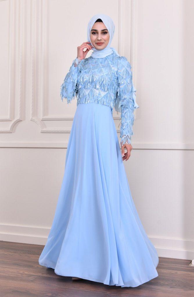 15 Wunderbar Blau Abendkleid Vertrieb - Abendkleid