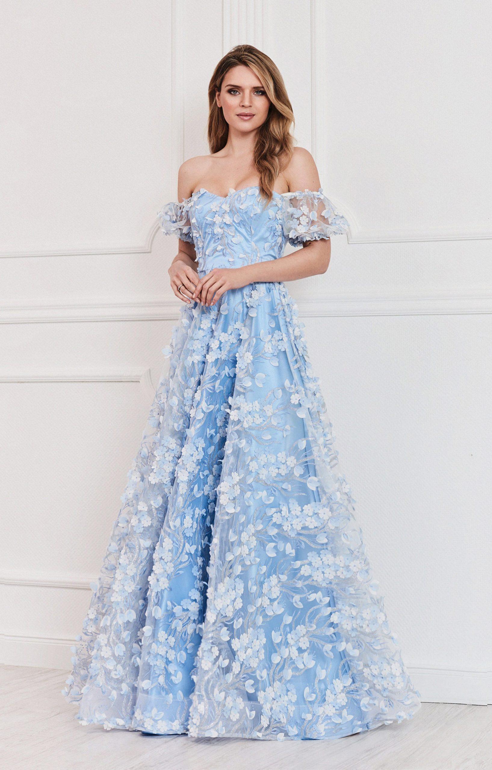 Leicht Blau Abend Kleider Spezialgebiet17 Luxurius Blau Abend Kleider Ärmel
