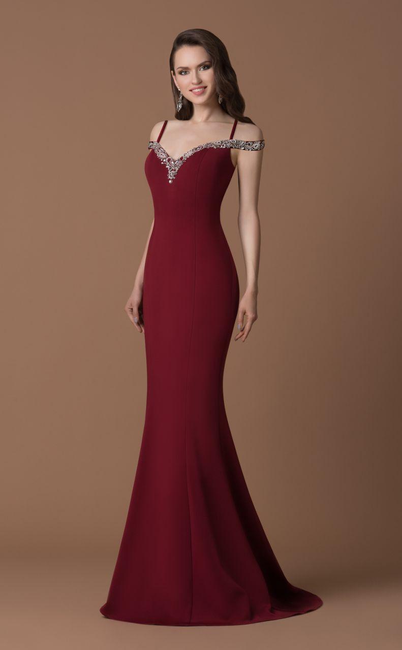 17 Schön Abendkleid Bordeaux Lang Vertrieb Perfekt Abendkleid Bordeaux Lang Design