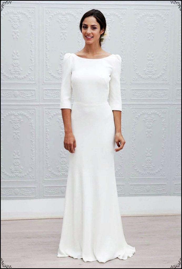 17 Fantastisch Weiße Kleider Lang für 2019 - Abendkleid