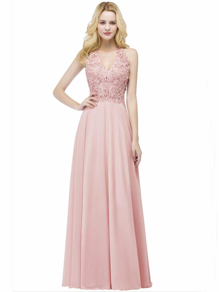 17 Genial Altrosa Kleid Lang Stylish - Abendkleid