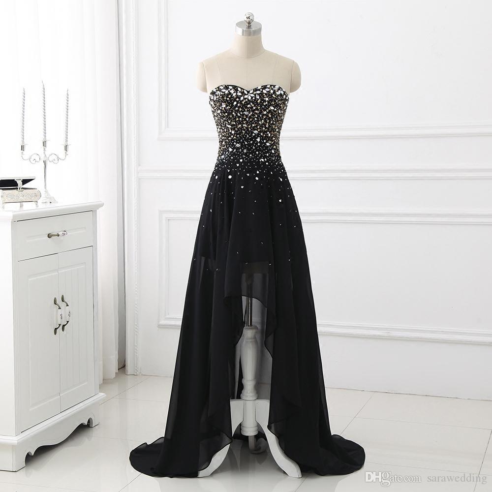 17 Schön Langes Schwarzes Abendkleid Galerie Einfach Langes Schwarzes Abendkleid Boutique