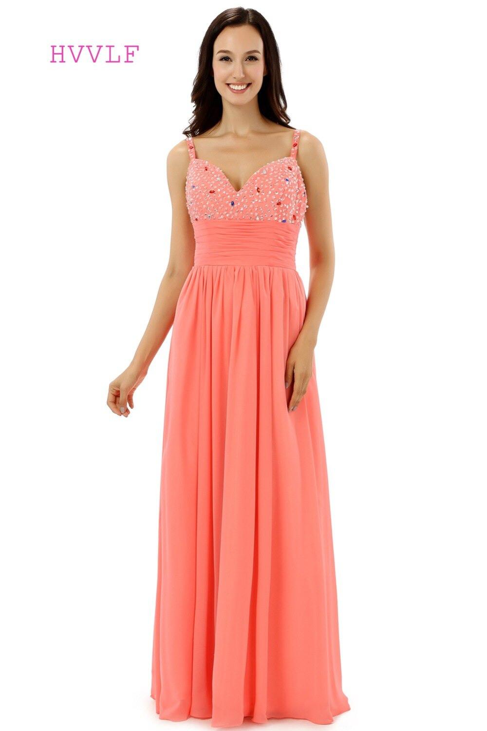 Abend Ausgezeichnet Kleid Koralle Lang Design20 Schön Kleid Koralle Lang Bester Preis