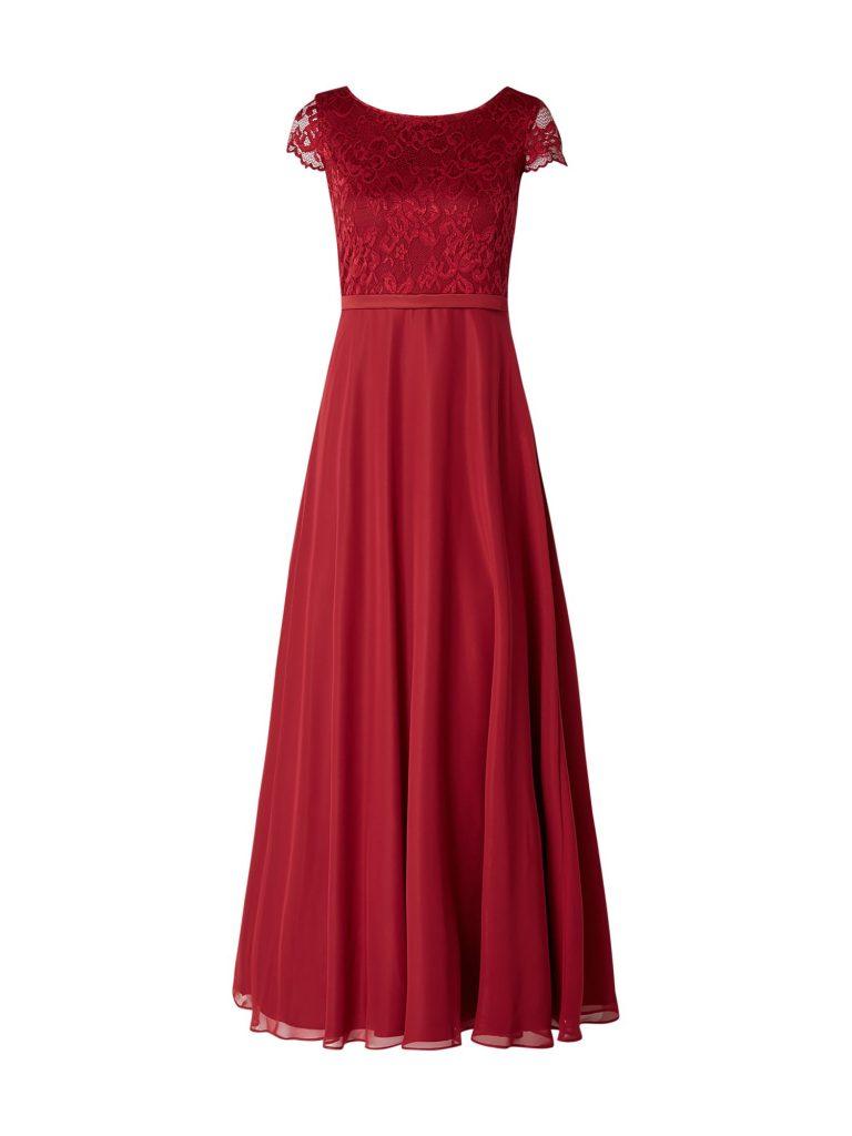 17 Luxurius Vera Mont Abendkleid Rot für 2019 - Abendkleid
