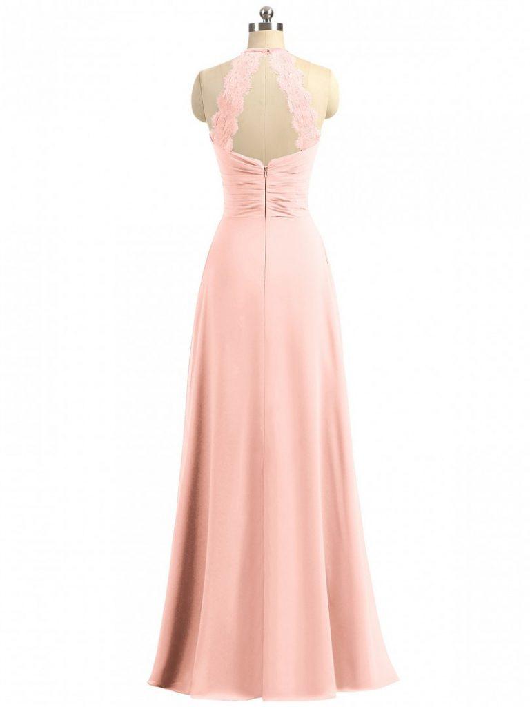9 Luxus Kleid Koralle Lang Design - Abendkleid