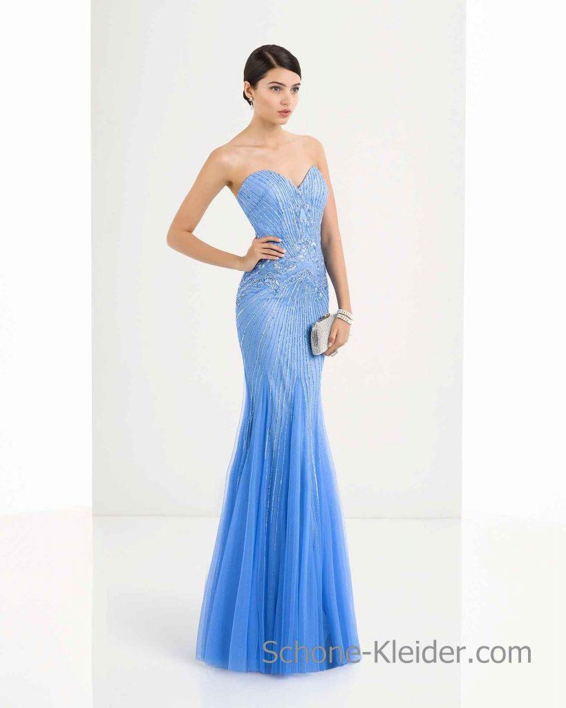 Schön Blaue Abend Kleider DesignFormal Genial Blaue Abend Kleider Ärmel