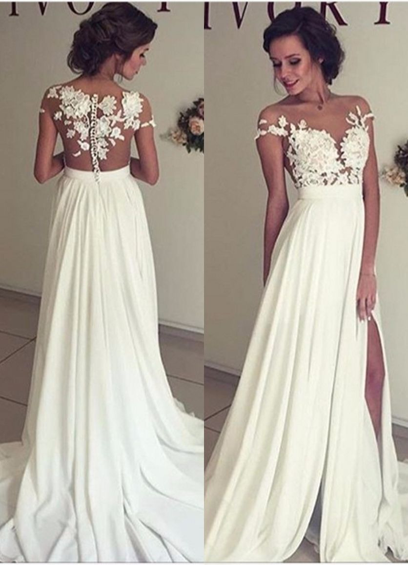 Schön Weiße Abendkleider Lang Bester Preis15 Erstaunlich Weiße Abendkleider Lang Ärmel