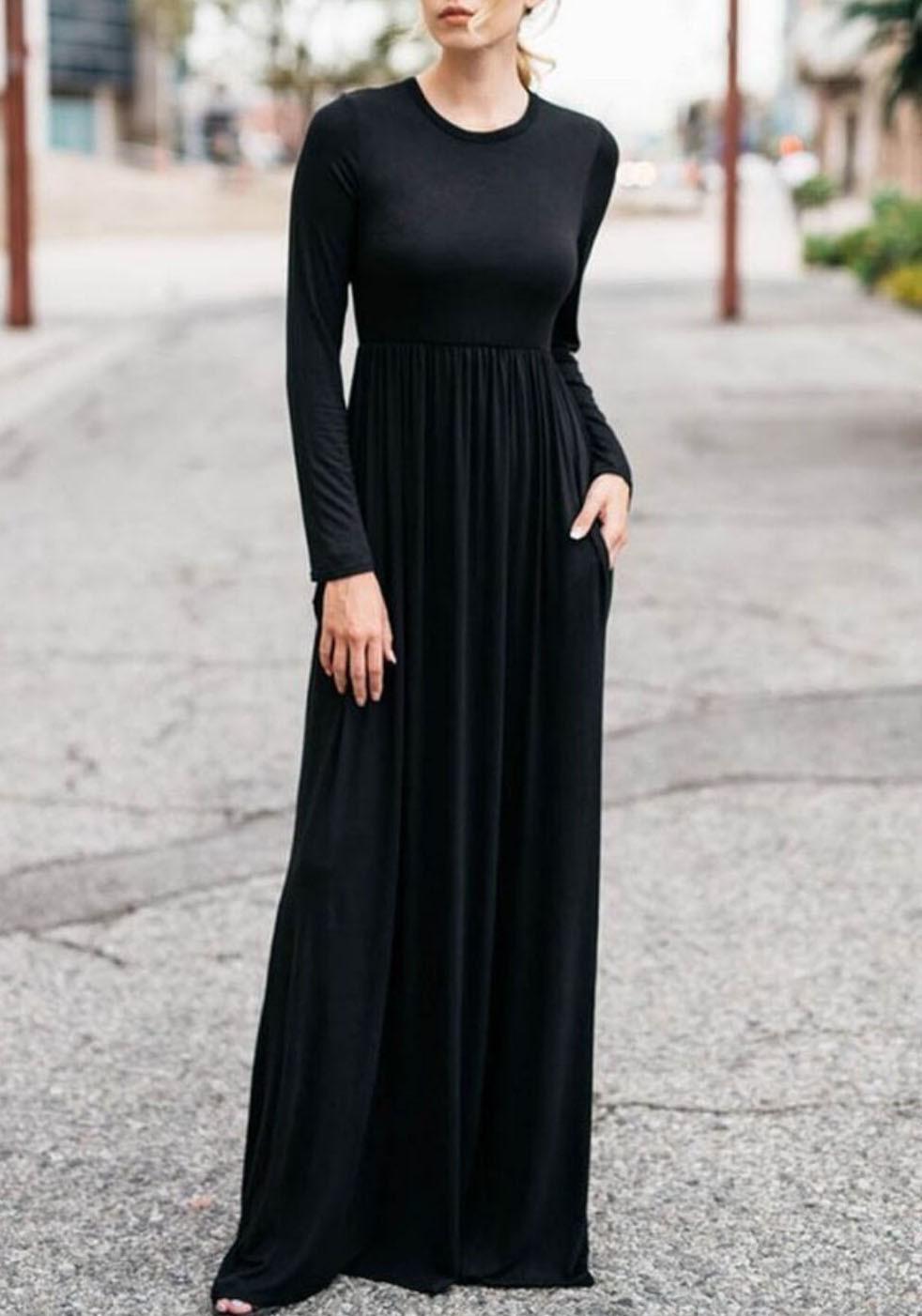 Designer Genial Langes Schwarzes Abendkleid SpezialgebietFormal Coolste Langes Schwarzes Abendkleid Stylish