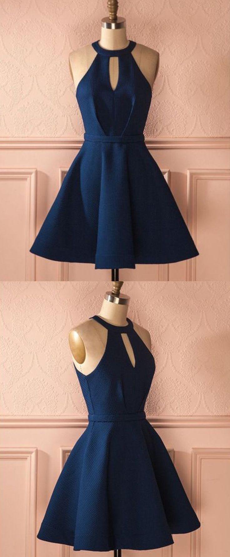Formal Fantastisch Dunkelblaues Kurzes Kleid Galerie15 Schön Dunkelblaues Kurzes Kleid Vertrieb