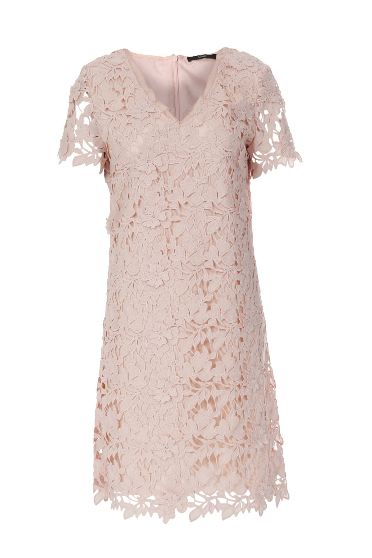 Formal Schön Kleid Spitze Rosa Spezialgebiet17 Wunderbar Kleid Spitze Rosa Stylish