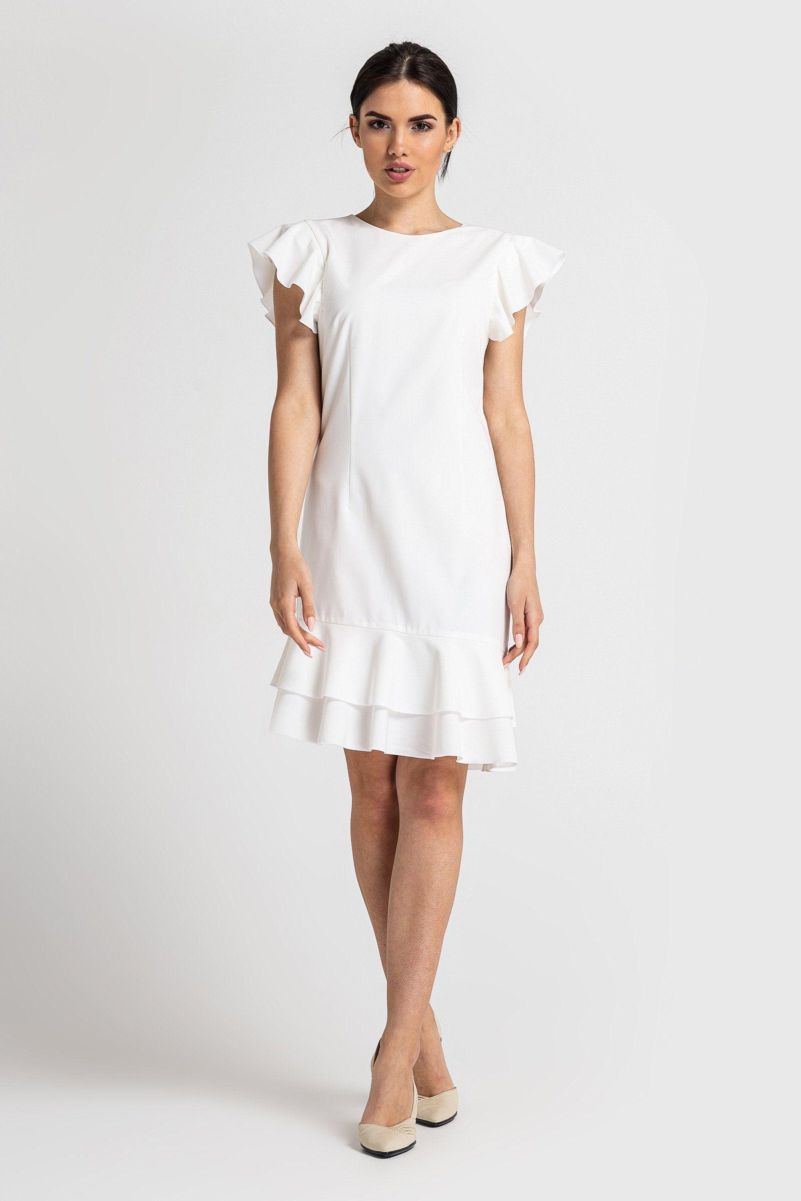 Elegant Sommerkleid Weiß für 201920 Schön Sommerkleid Weiß Stylish