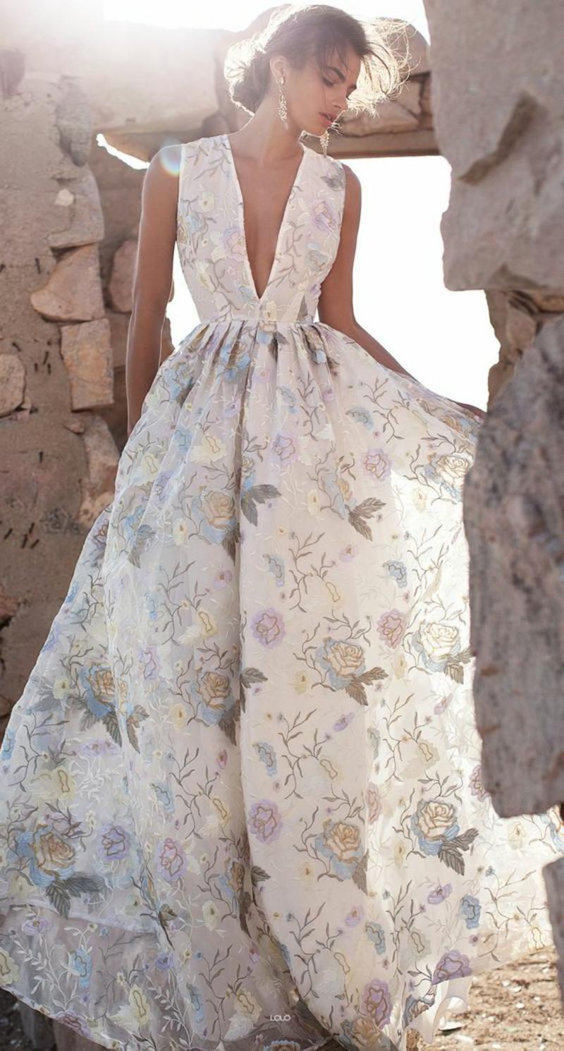 Formal Perfekt Festliches Sommerkleid Lang Design Schön Festliches Sommerkleid Lang Boutique