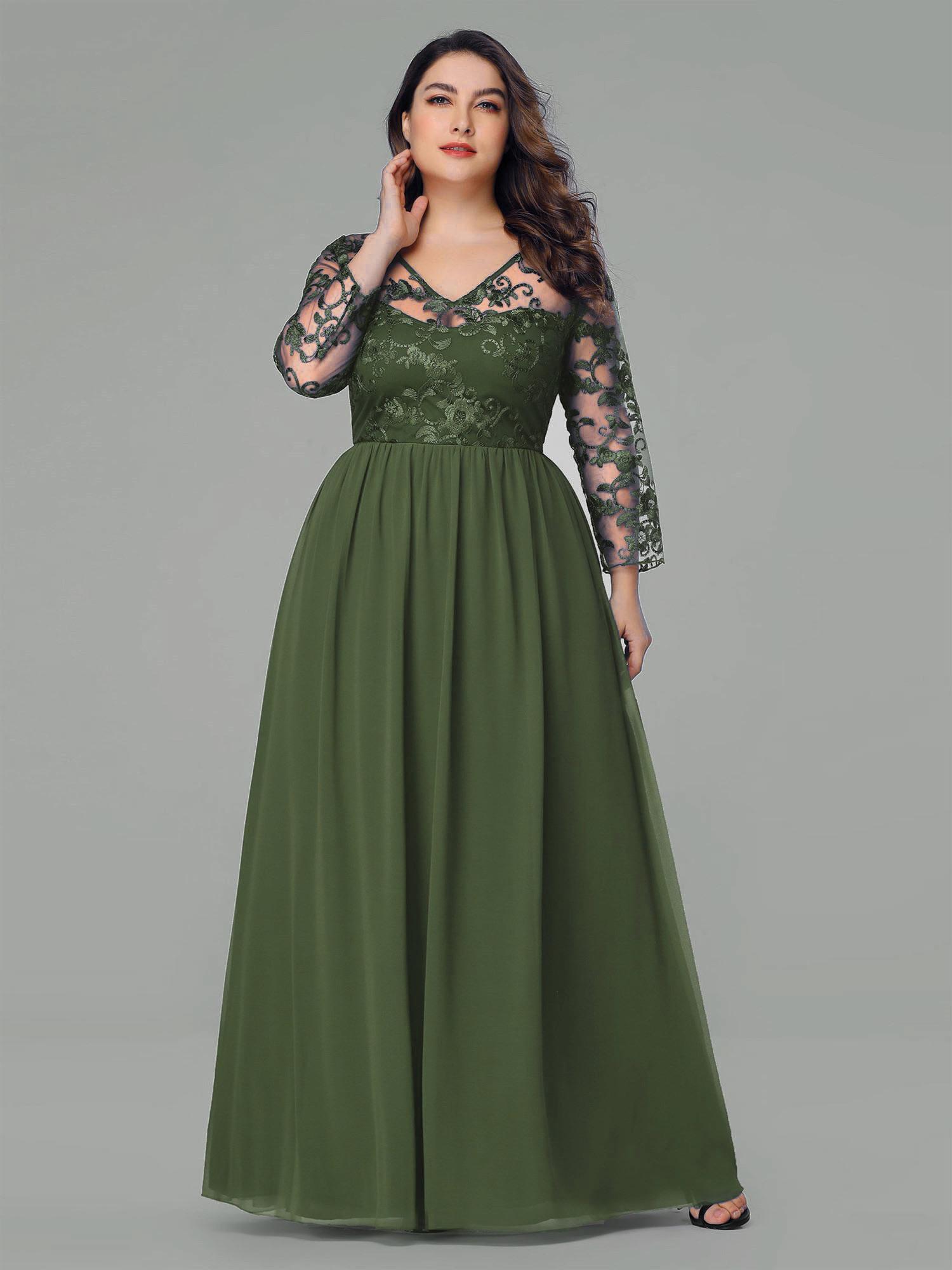 Erstaunlich Abendkleid Große Größen Ärmel10 Schön Abendkleid Große Größen Boutique