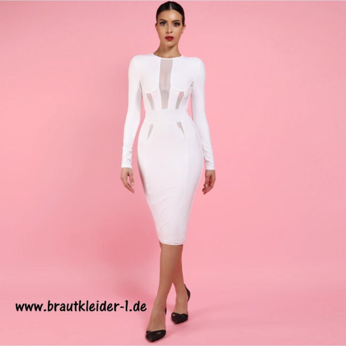 Schön Kleid Elegant Knielang Ärmel15 Luxus Kleid Elegant Knielang Vertrieb