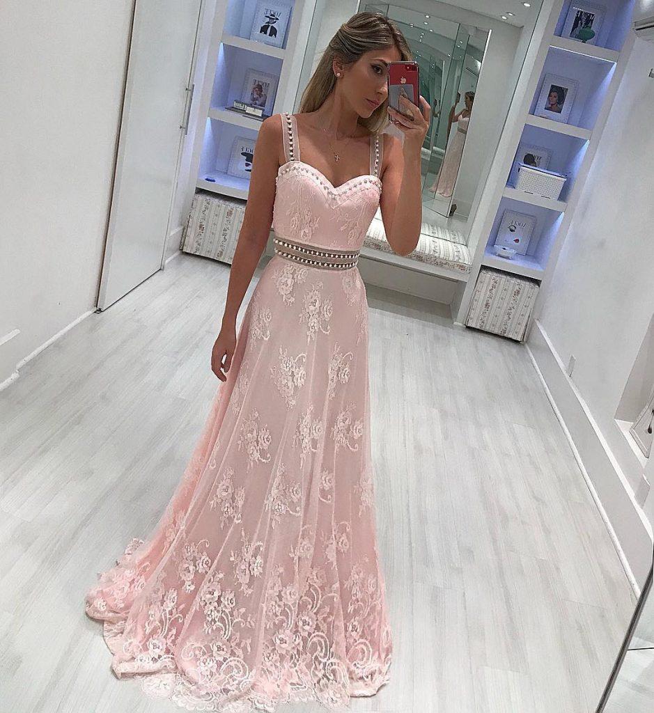 20 Leicht Abendkleider Lang Rosa Spezialgebiet - Abendkleid