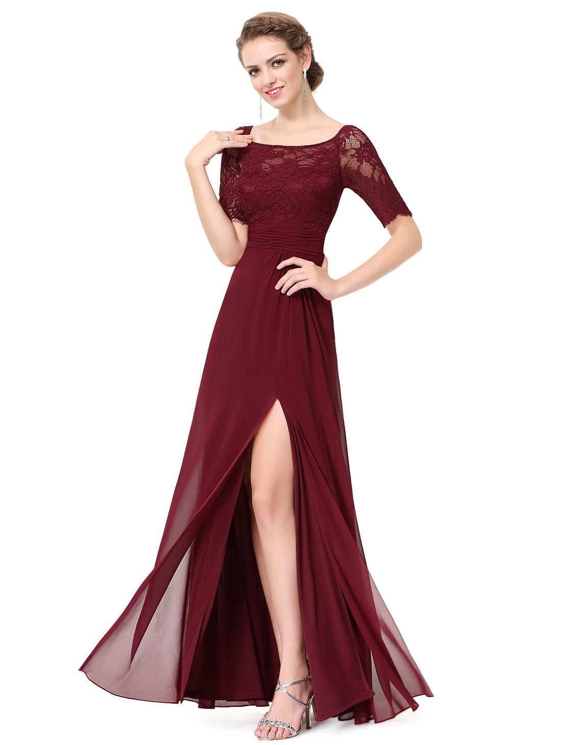 Formal Fantastisch Abendkleid Dunkelrot Boutique13 Coolste Abendkleid Dunkelrot Design