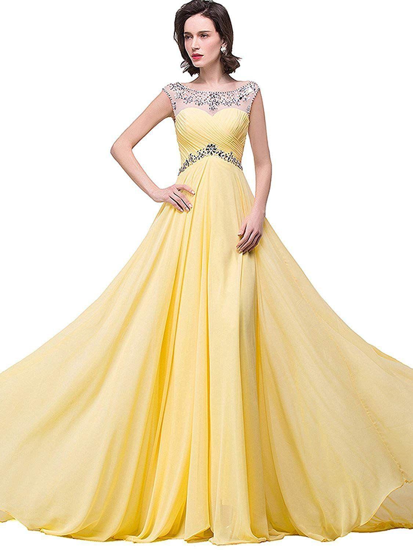 10 Spektakulär Abendkleid Gelb Spezialgebiet Fantastisch Abendkleid Gelb Galerie