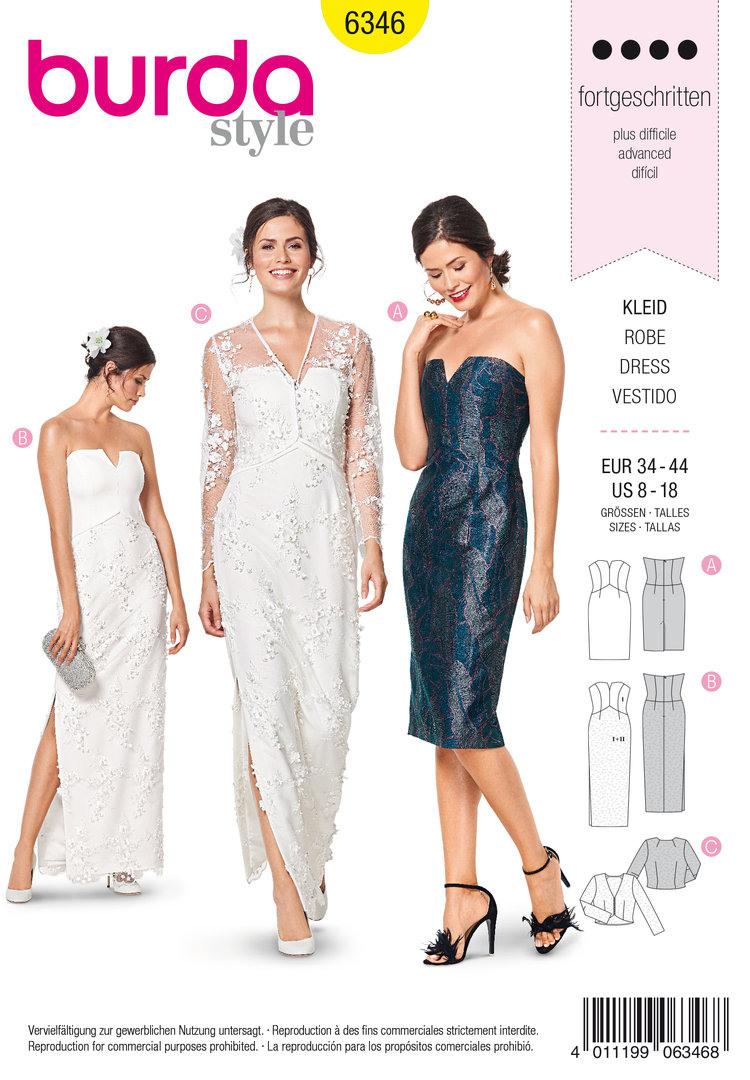 14 Schön Abendkleider Schnittmuster Ärmel - Abendkleid