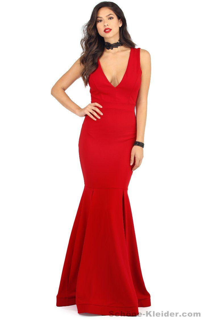 10 Großartig Rote Abendkleider Lang StylishDesigner Genial Rote Abendkleider Lang Bester Preis