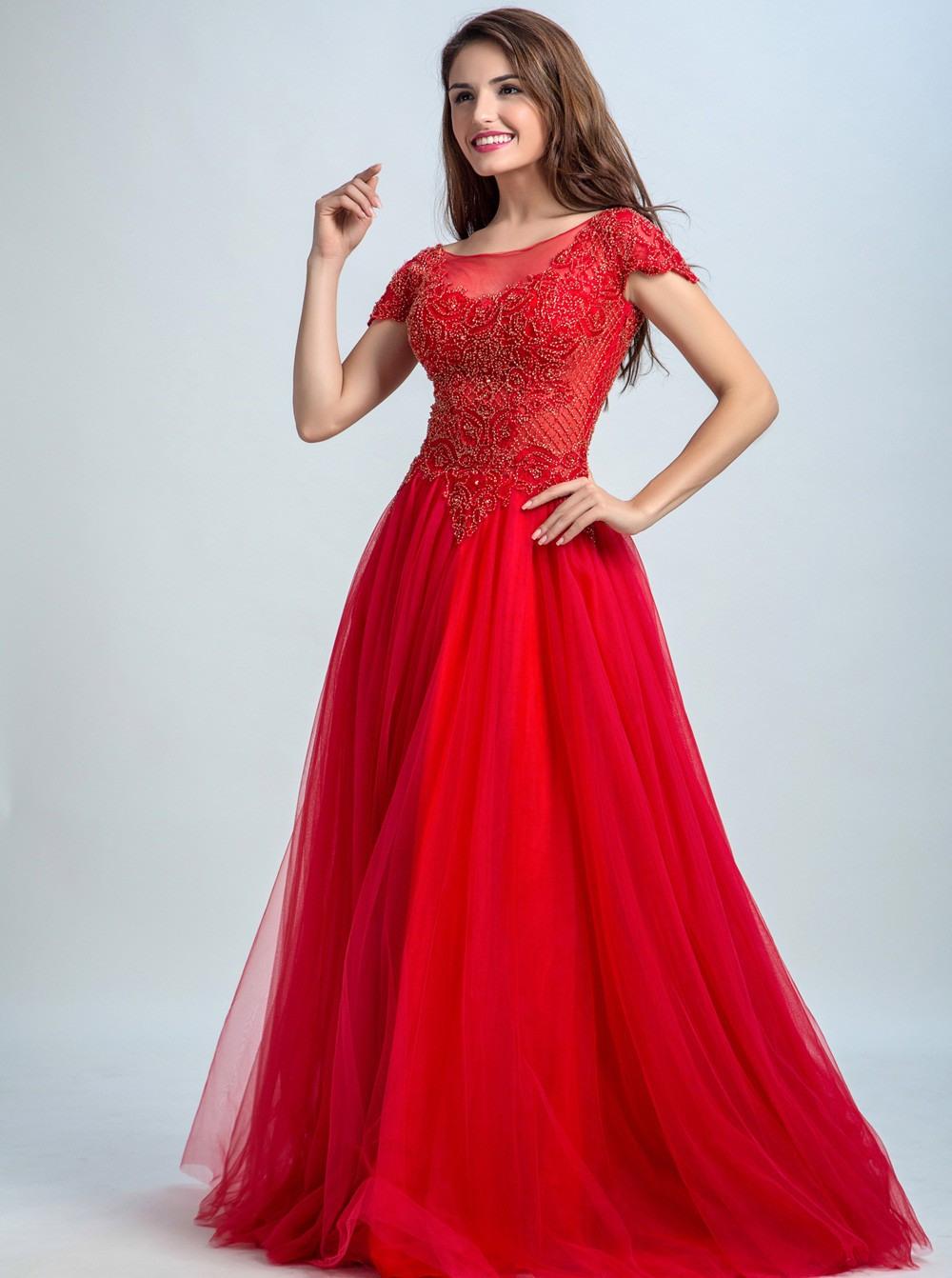Designer Erstaunlich Abendkleider Rot VertriebDesigner Schön Abendkleider Rot Boutique