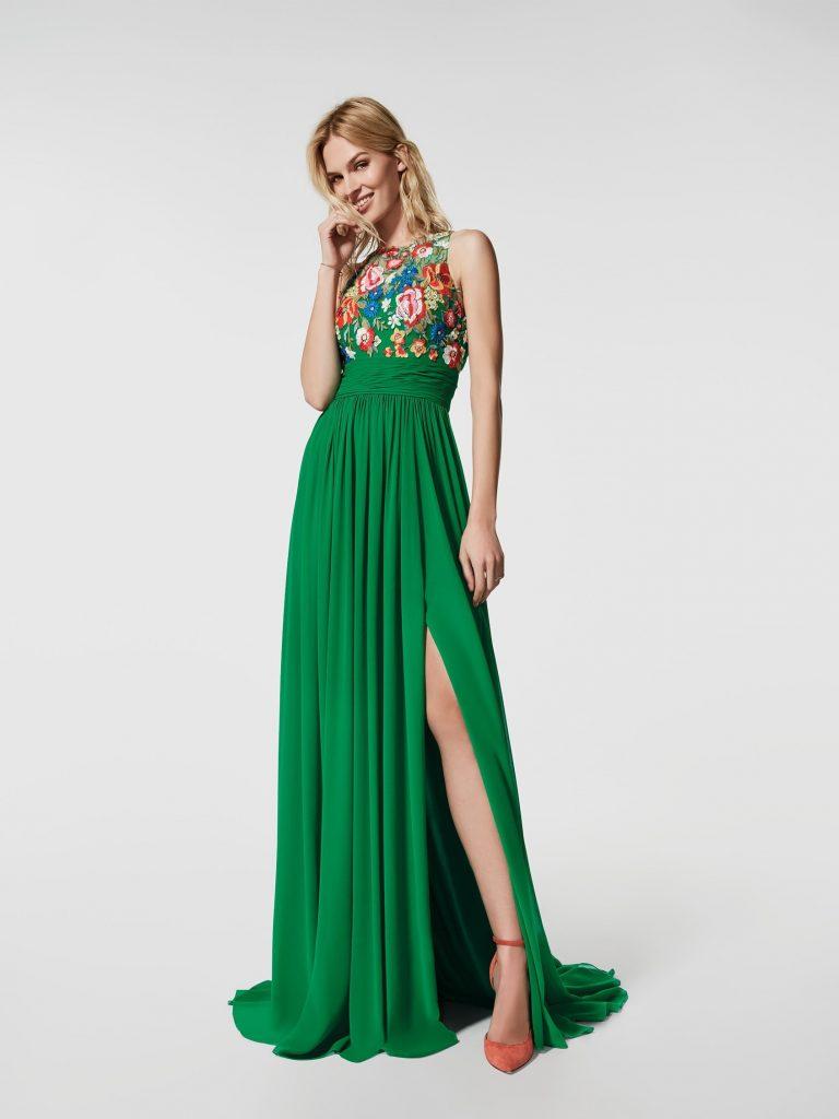 Abend Ausgezeichnet Abendkleid Grün Lang Design - Abendkleid