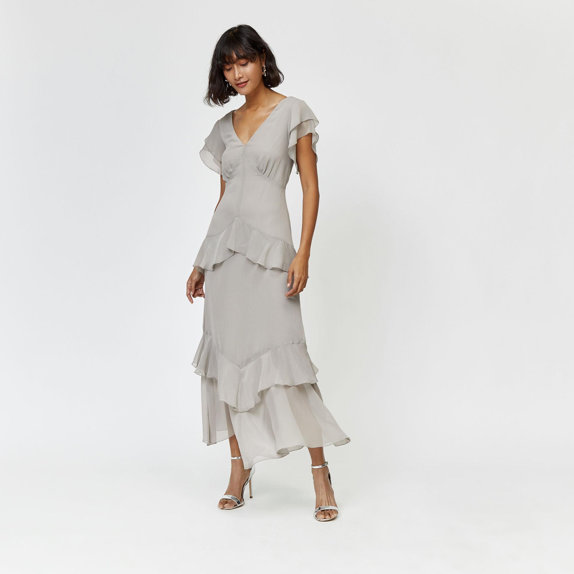 Abend Cool Maxi Winterkleider Design - Abendkleid