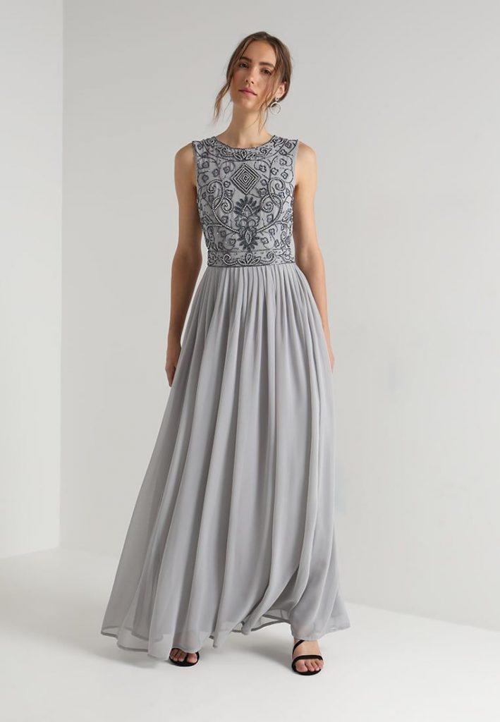 Abend Einfach Abendkleid Zalando Lang Vertrieb Abendkleid