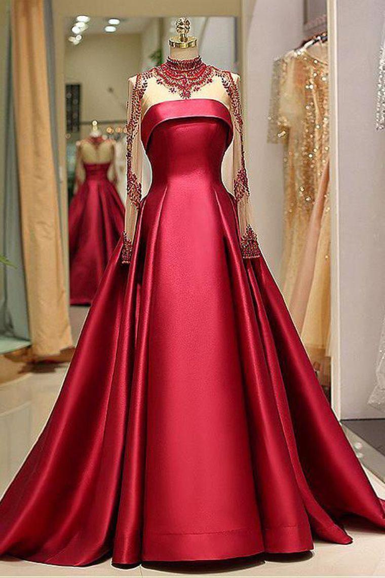 20 Luxus Satin Abend Kleid Spezialgebiet13 Schön Satin Abend Kleid Stylish