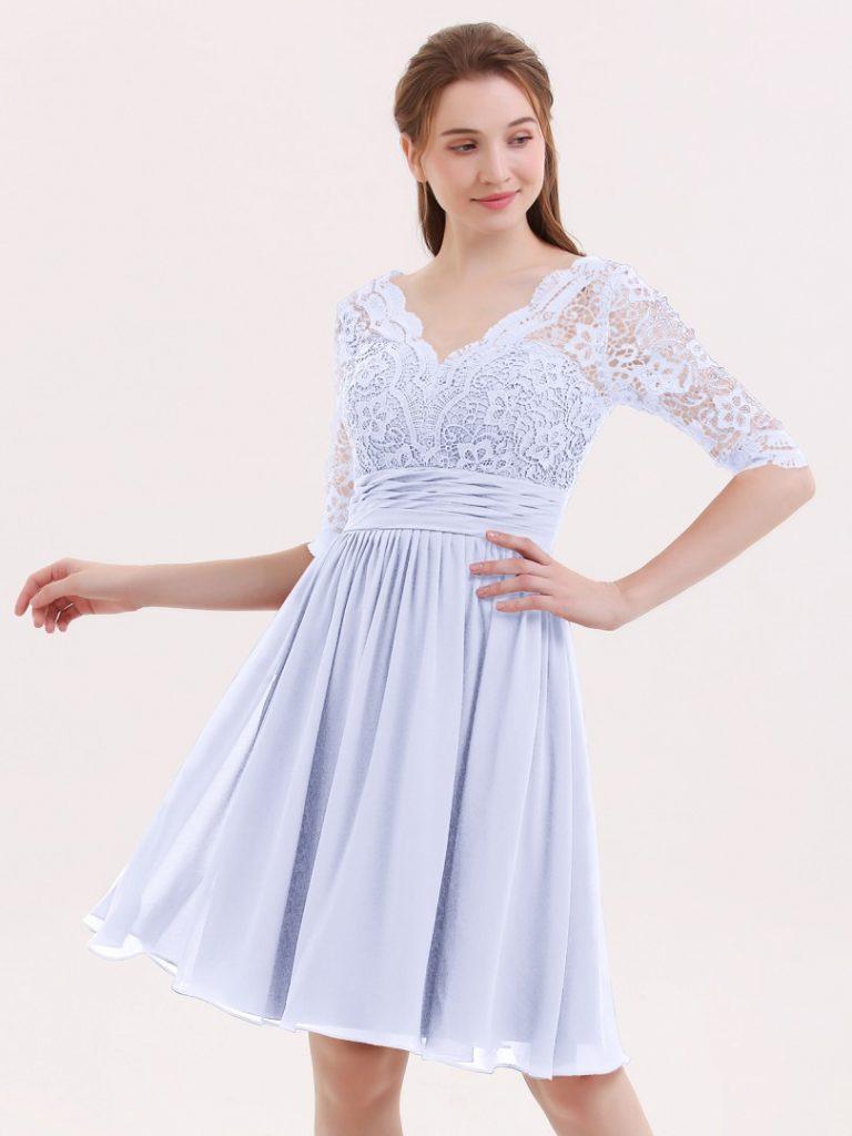 Abend Elegant Abendkleid Kurz Spitze Boutique - Abendkleid
