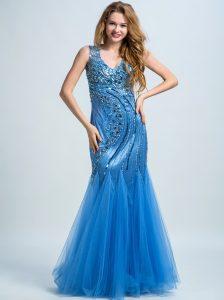 Designer Genial Blau Abendkleid Ärmel20 Luxurius Blau Abendkleid Vertrieb