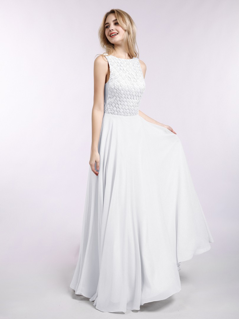 20 Ausgezeichnet Kleid Lang Weiß Galerie13 Spektakulär Kleid Lang Weiß Spezialgebiet