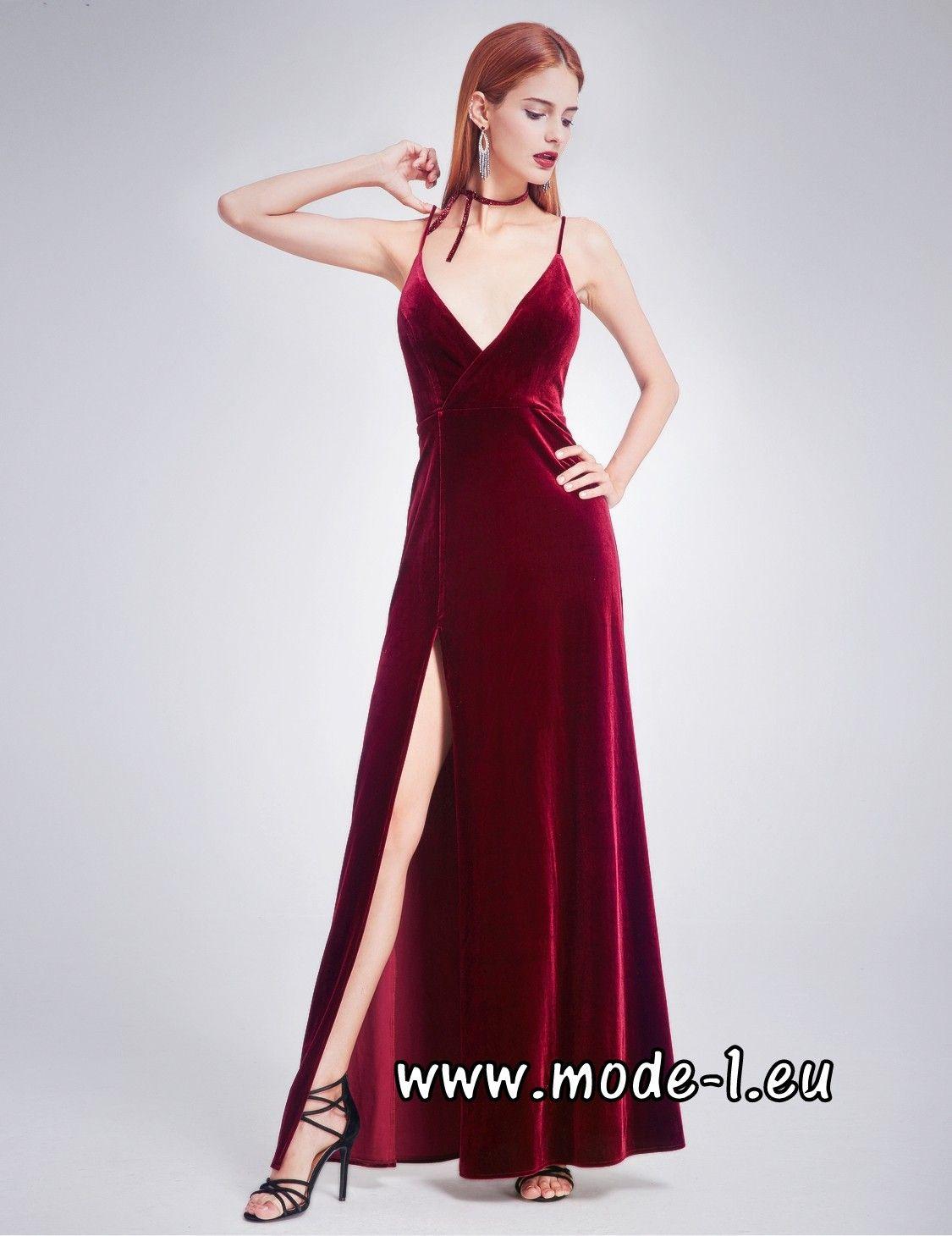 17 Wunderbar Abendkleid Weinrot Boutique Spektakulär Abendkleid Weinrot für 2019