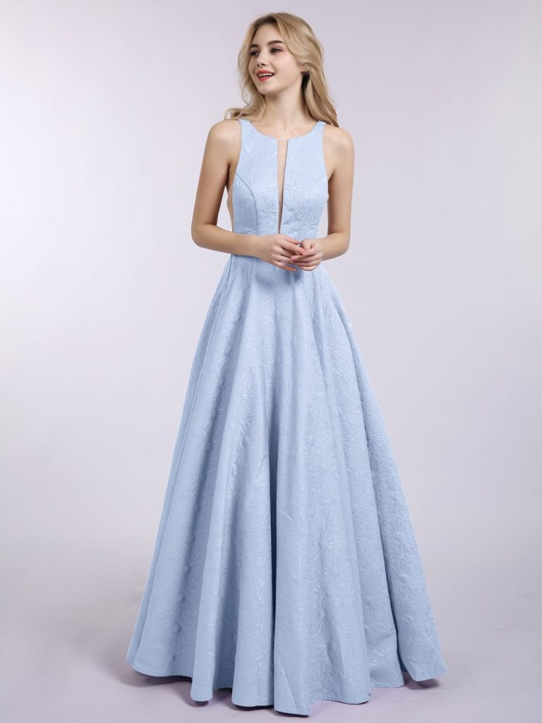 abend schön ballkleid weiß lang für 2019 - abendkleid