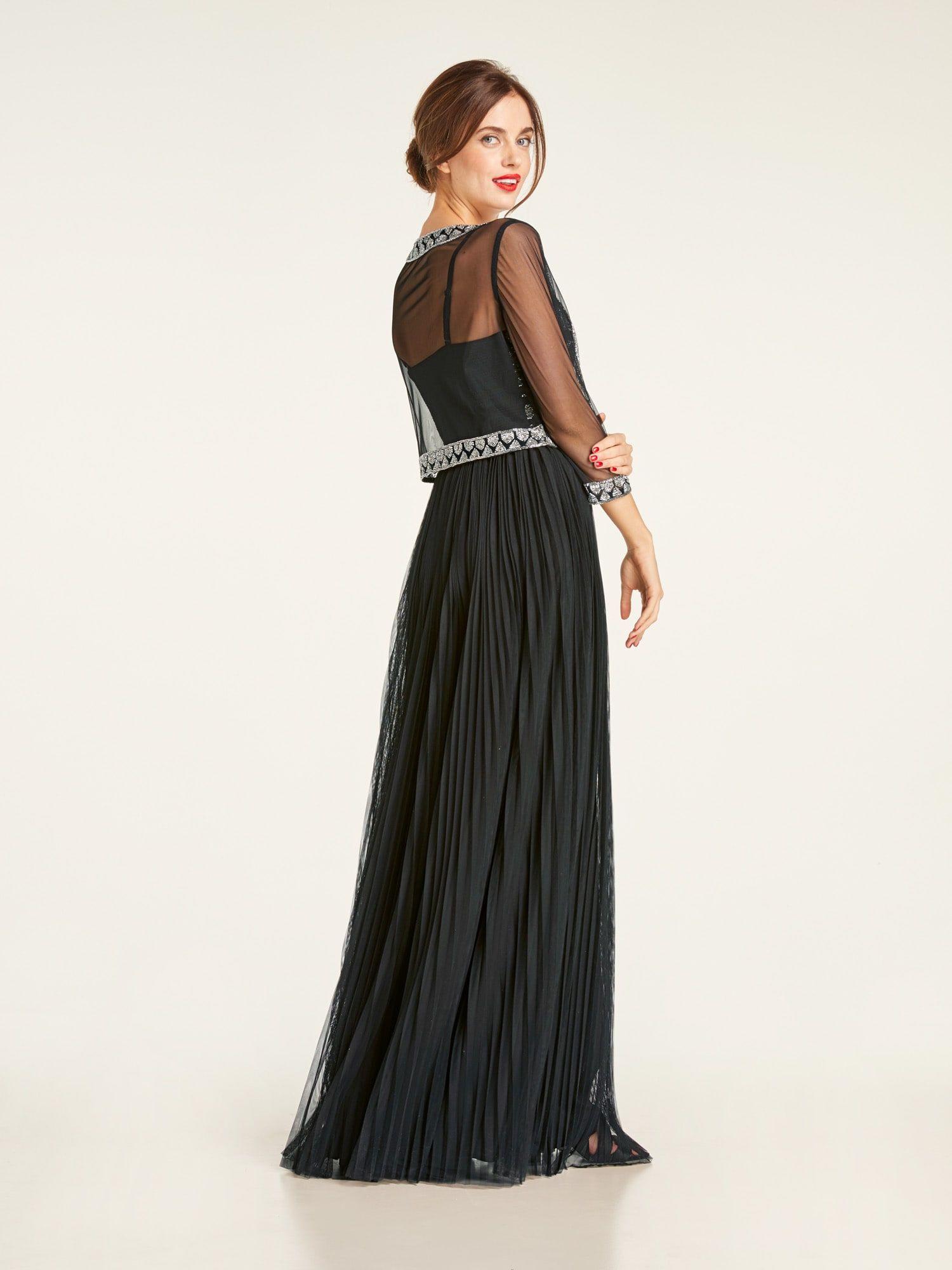 Ausgezeichnet Heine Abendkleid Lang Stylish - Abendkleid