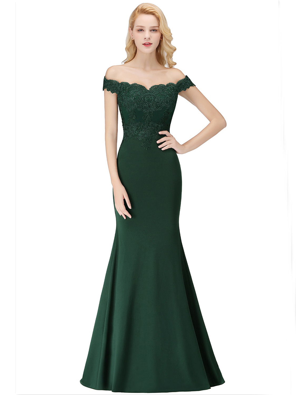 Abend Genial Abendkleid Dunkelgrün Design15 Leicht Abendkleid Dunkelgrün Boutique