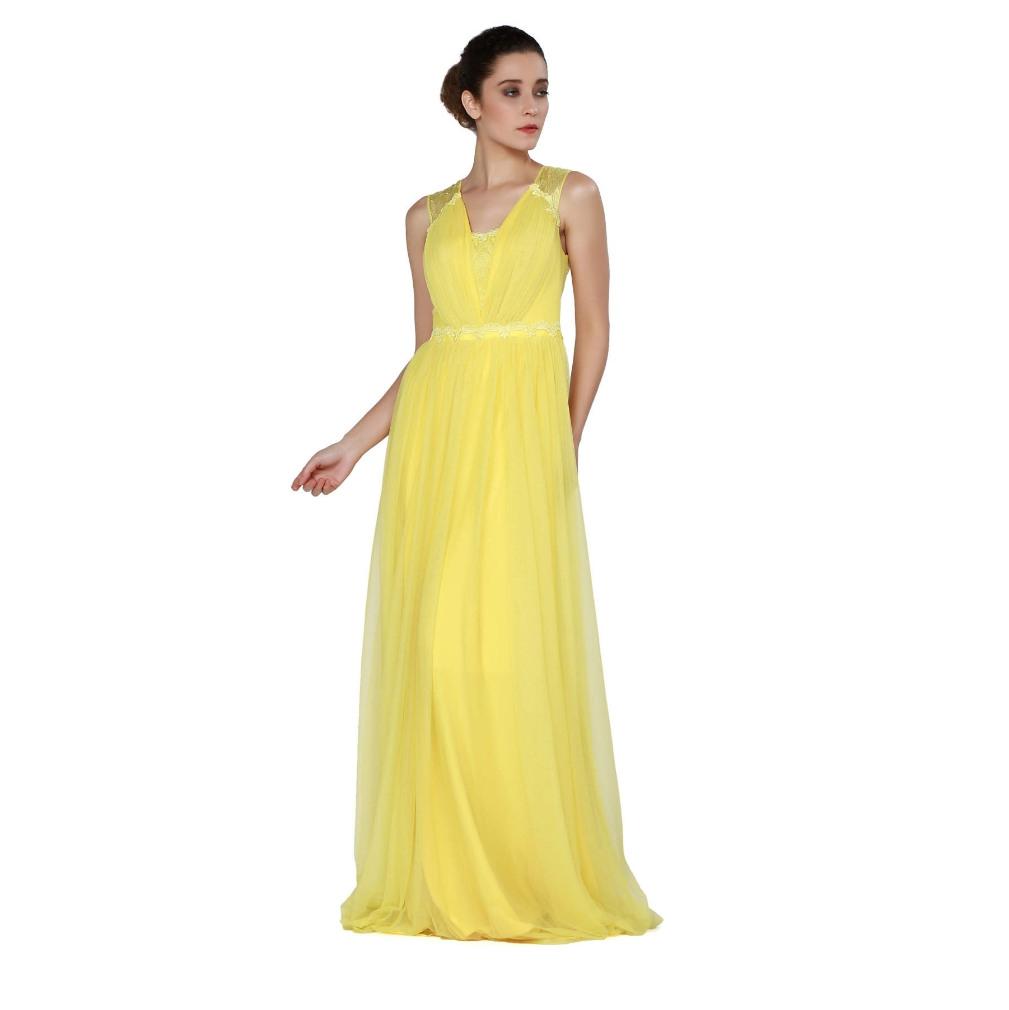 20 Fantastisch Abendkleid Gelb für 201920 Perfekt Abendkleid Gelb Design