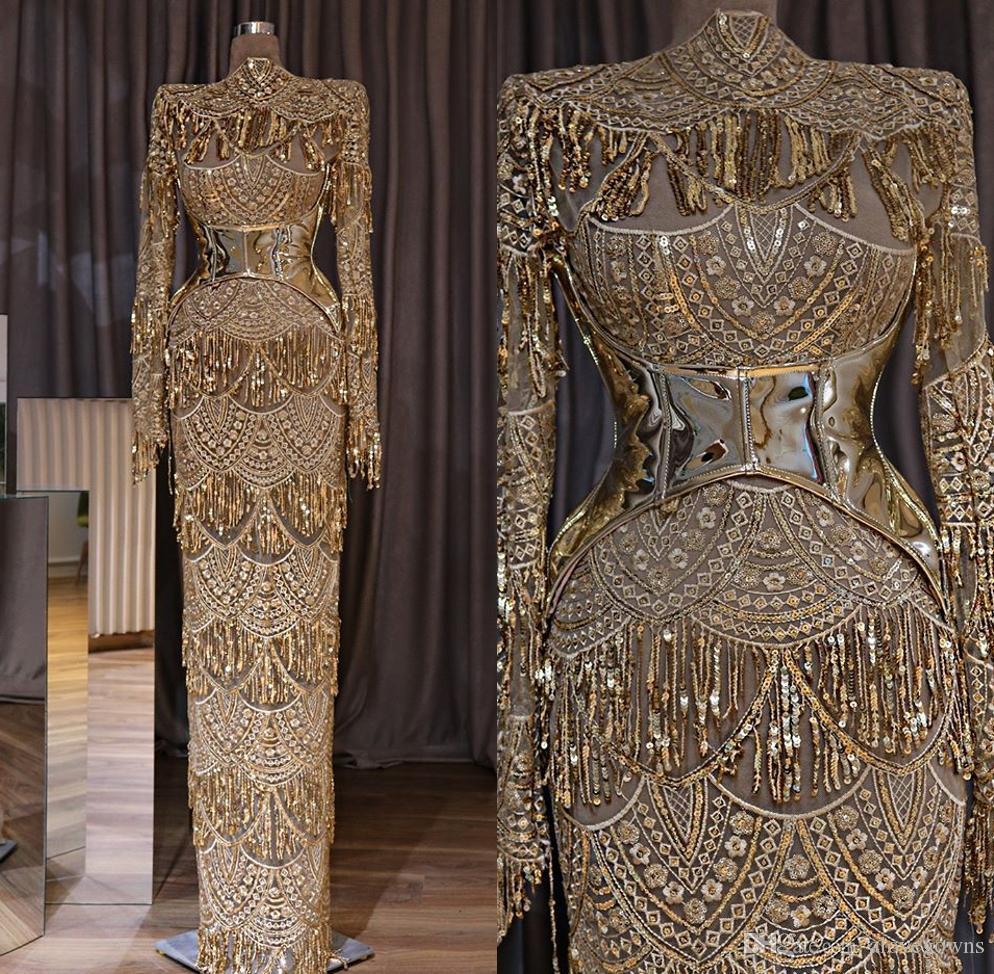 Erstaunlich Abendkleider Gold für 2019 Genial Abendkleider Gold Ärmel
